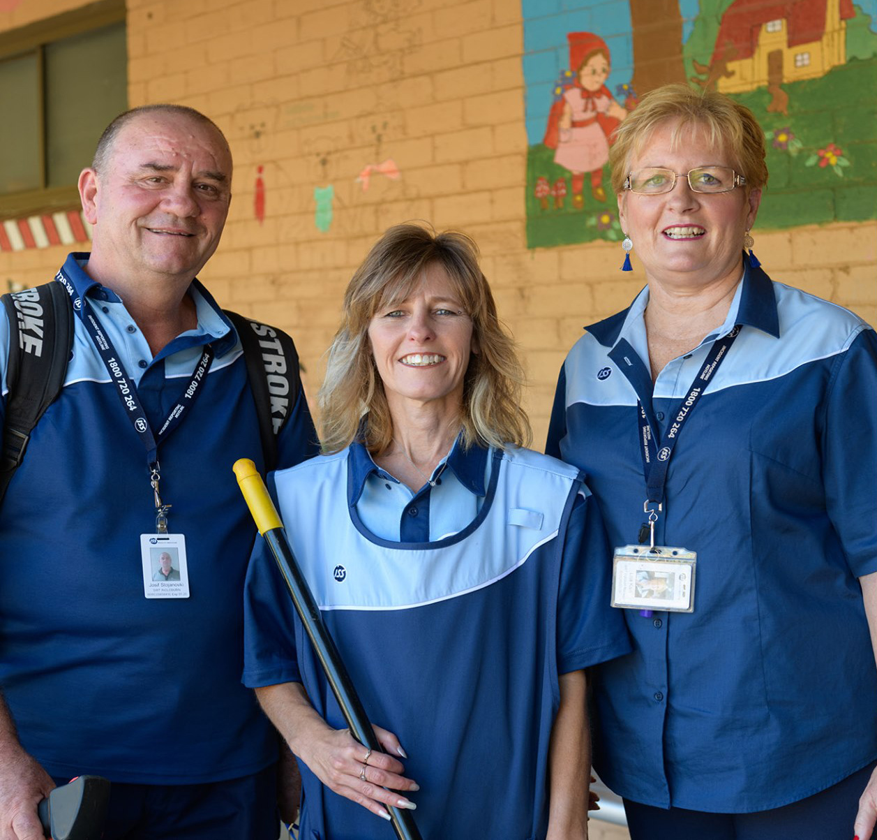 ISS School Cleaners